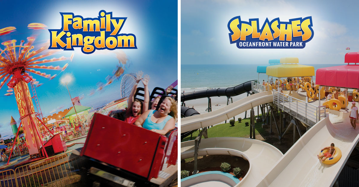 Water Park Family Kingdom Amut Part And Splashs Oceanfront