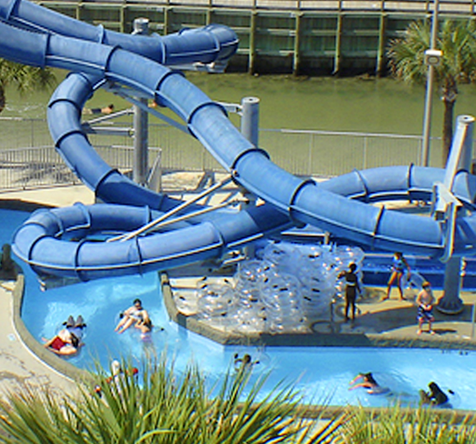 Inflatable Slide North Myrtle Beach: Family Kingdom Amusement Part And Splashs