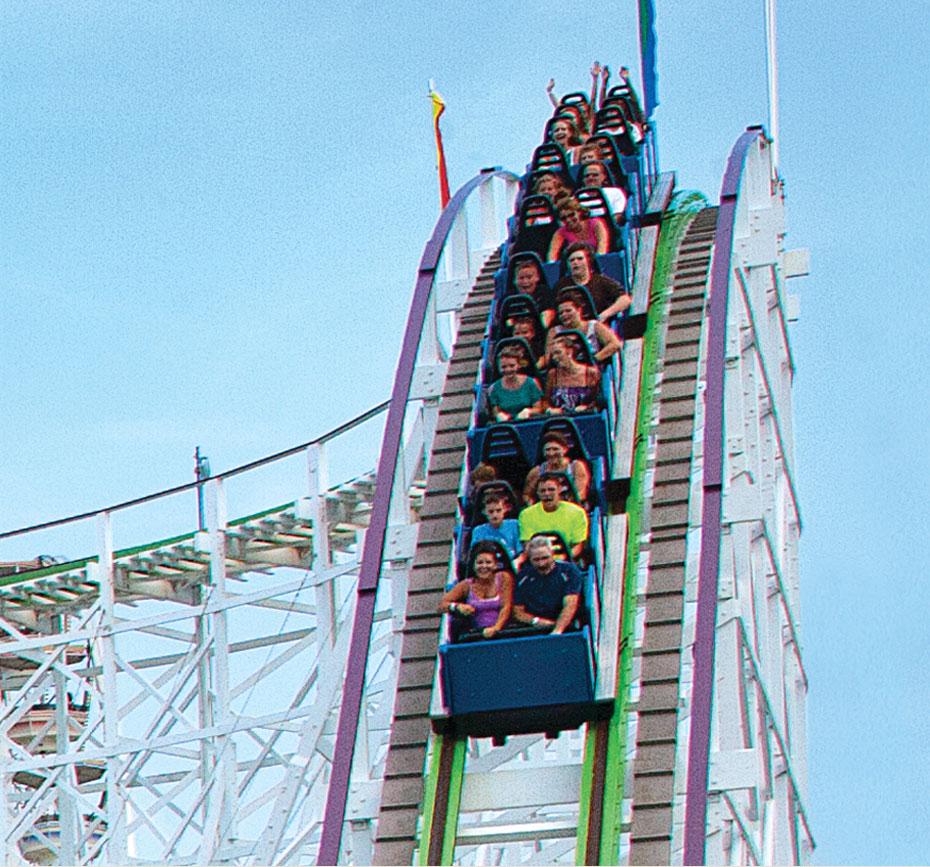 Swamp Fox Roller Coaster