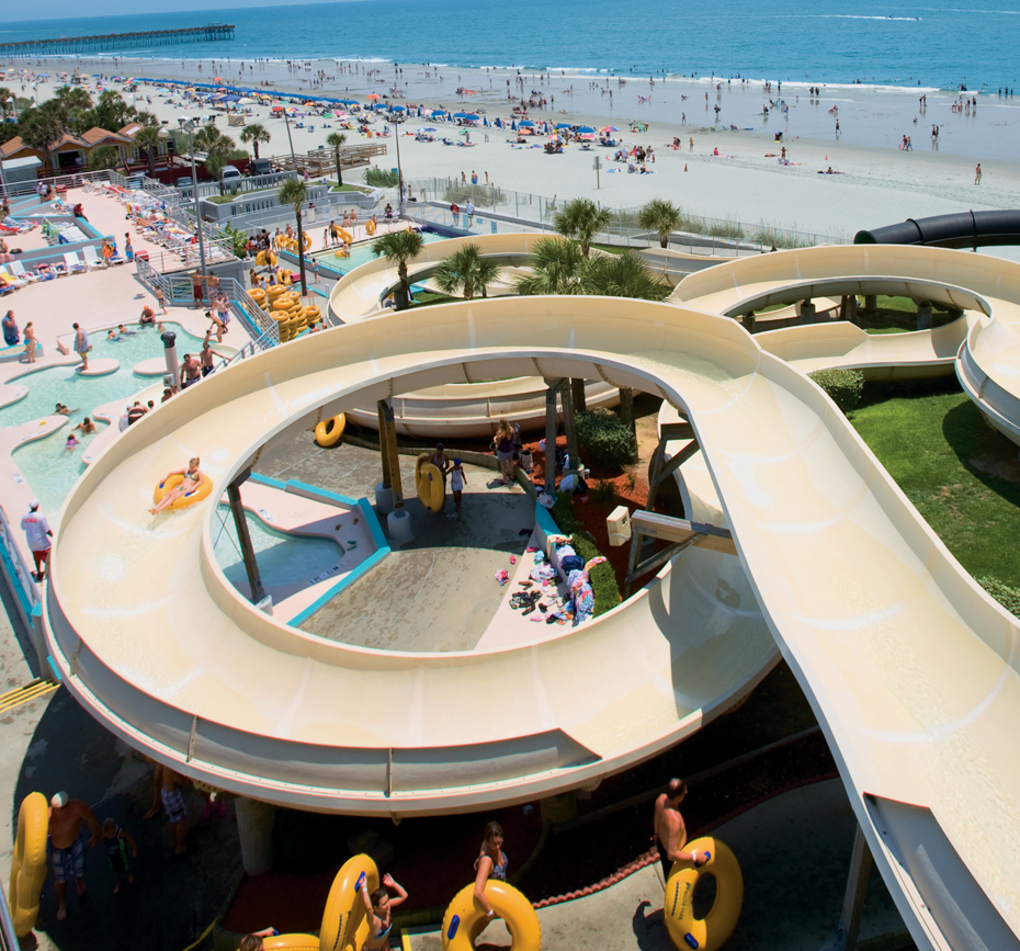 Water Park Family Kingdom Amut Part And Splashs Oceanfront Splash Waterpark At Kingston Resorts Myrtle Beach