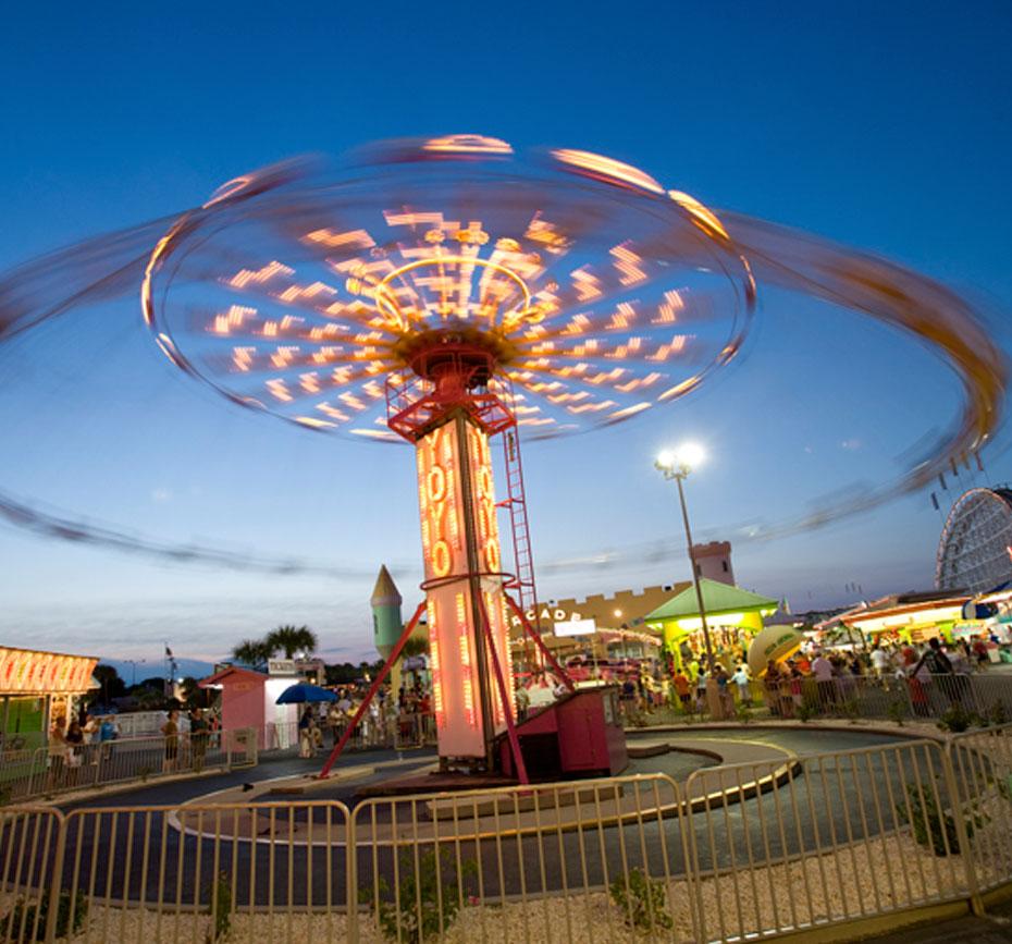 Cars Themed Amusement Park